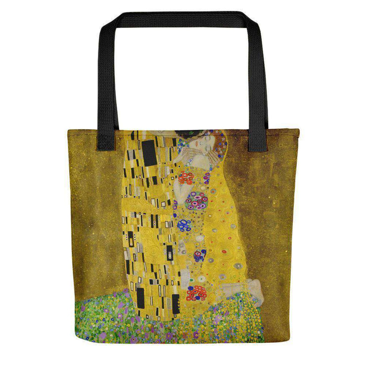 Gustav Klimt - The Kiss (Lovers) Tote Bag - C'monStore #Tote Bags
