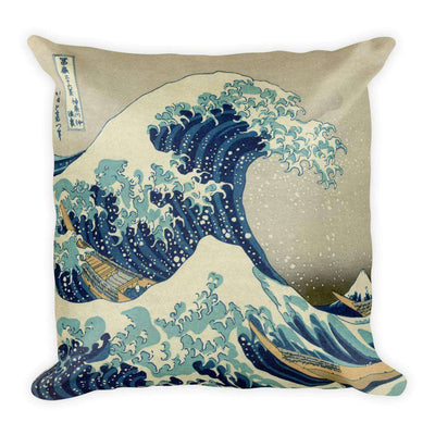 Hokusai - The Great Wave off Kanagawa Pillow - C'monStore #Pillows