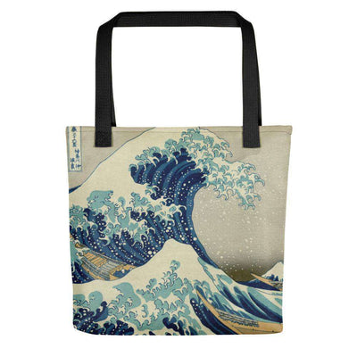 Hokusai - The Great Wave off Kanagawa Tote Bag - C'monStore #Tote Bags