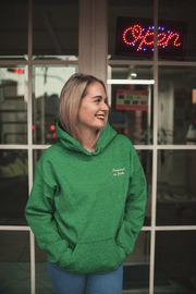 Feminist As Fuck Embroidered Hoodie - C'monStore #Shirts