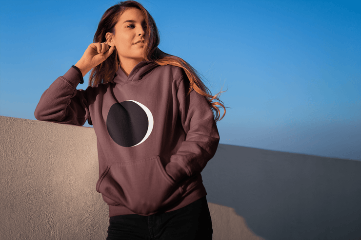 Crescent Moon Hoodie - C'monStore #Shirts
