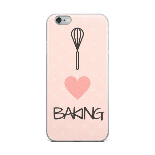 I Love Baking iPhone Case - C'monStore #Phone Cases
