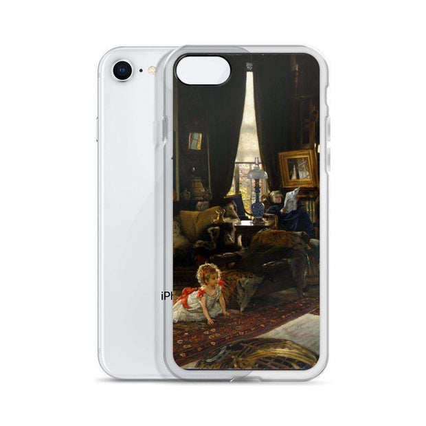 James Tissot - Hide and Seek iPhone Case - C'monStore #Phone Cases