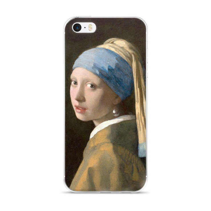 Johannes Vermeer - Girl with a Pearl Earring iPhone Case - C'monStore #Phone Cases