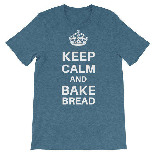 Keep Calm and Bake Bread T-Shirt - C'monStore #Shirts