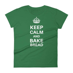 Keep Calm and Bake Bread Women's T-Shirt - C'monStore #Shirts