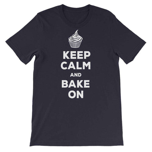 Keep Calm and Bake On T-Shirt - C'monStore #Shirts
