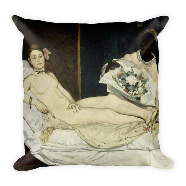 Manet - Olympia Pillow - C'monStore #Pillows