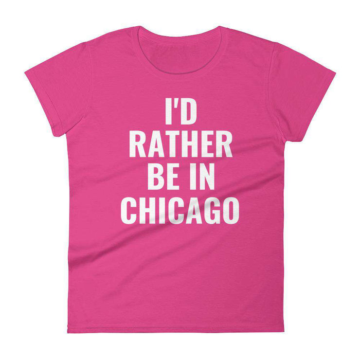 I'd Rather Be In Customizable Women's T-Shirt - C'monStore #Shirts