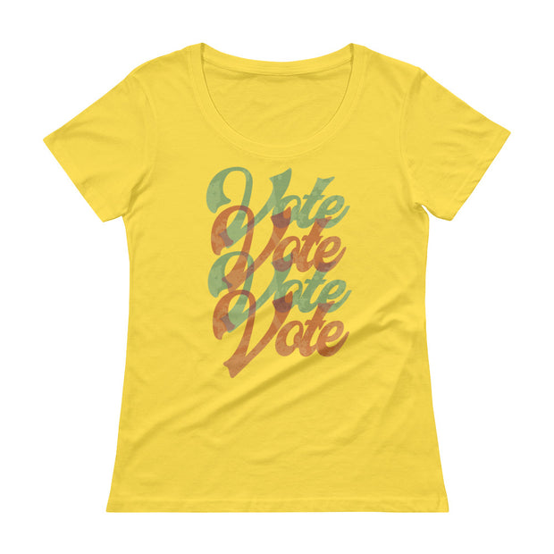 Vote Women's Scoopneck T-Shirt