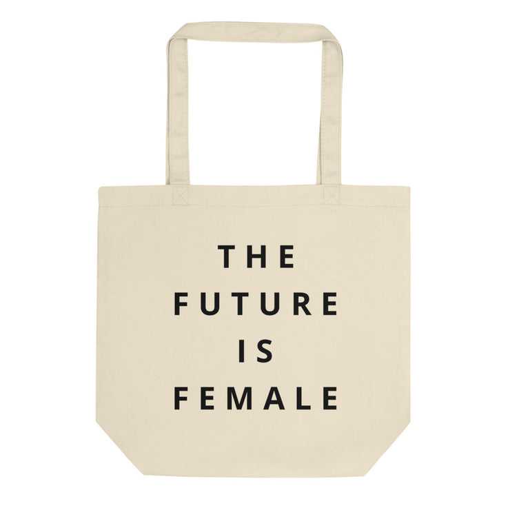 The Future Is Female Tote Bag - C'monStore #Tote Bags