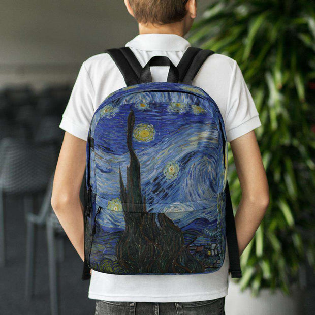 Van Gogh Starry Night Backpack - C'monStore #Backpacks