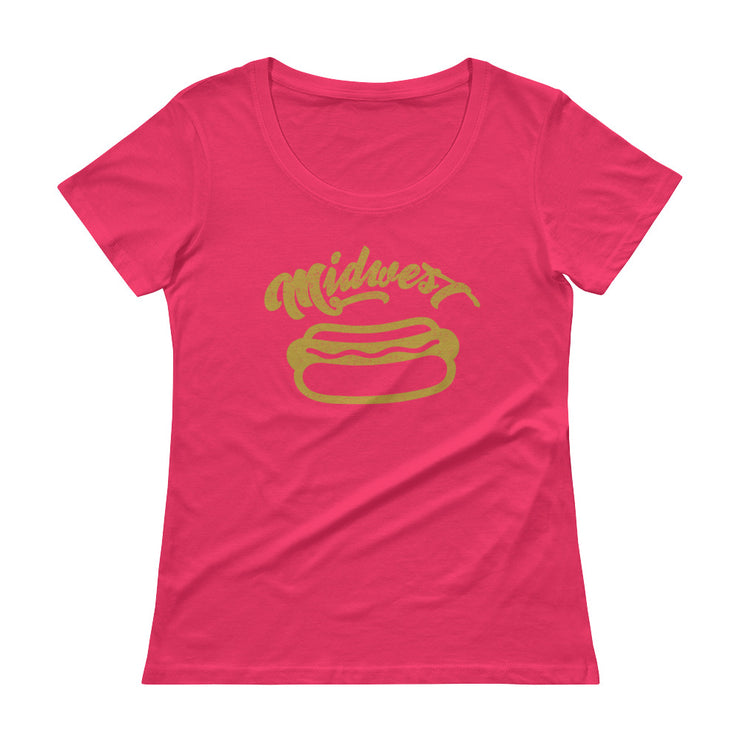 Midwest Women's Scoopneck T-Shirt - C'monStore #Shirts