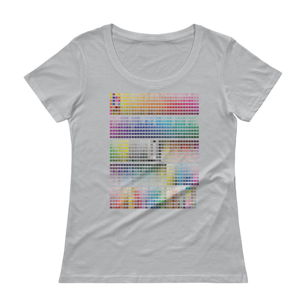 Pantone Women's Scoopneck T-Shirt