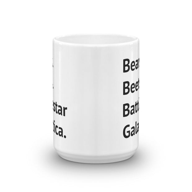 Bears. Beets. Battlestar Galactica Mug - C'monStore #Mugs