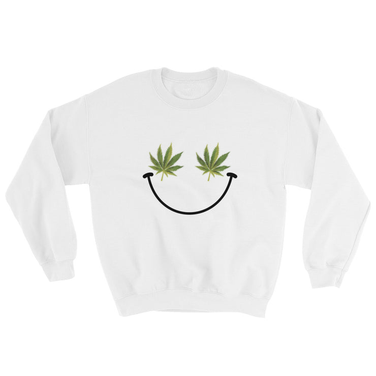Weed Smiley Sweatshirt