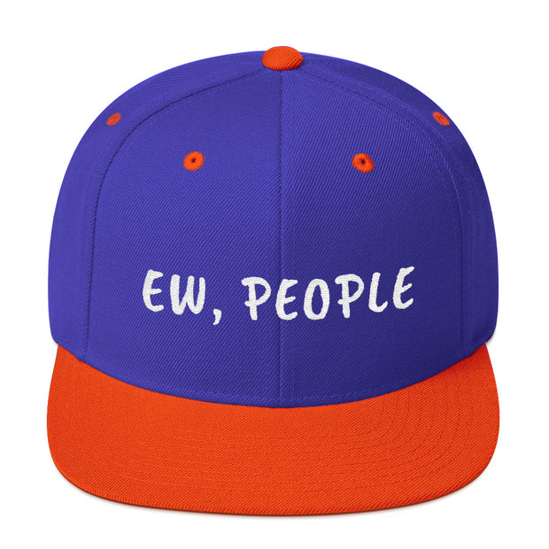 Ew People Snapback Hat - C'monStore #Hats