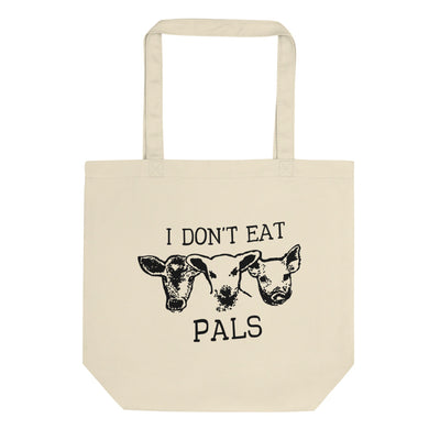 I Don't Eat Pals Tote Bag - C'monStore #Tote Bags