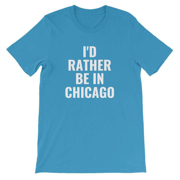 I'd Rather Be In Customizable T-Shirt - C'monStore #Shirts
