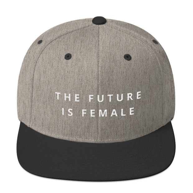 The Future Is Female Snapback Hat - C'monStore #Hats