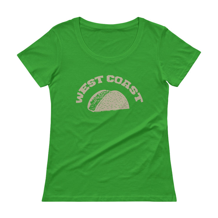 West Coast Women's Scoopneck T-Shirt