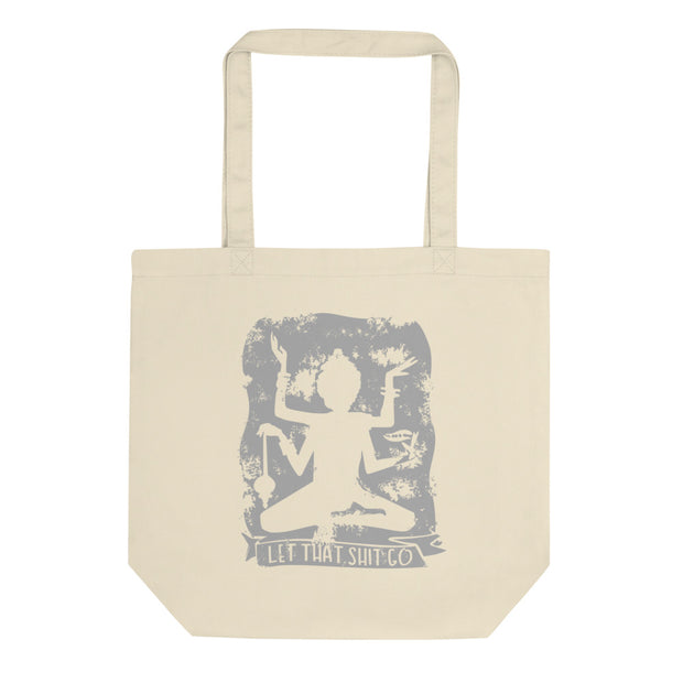 Let That Shit Go Tote Bag - C'monStore #Tote Bags