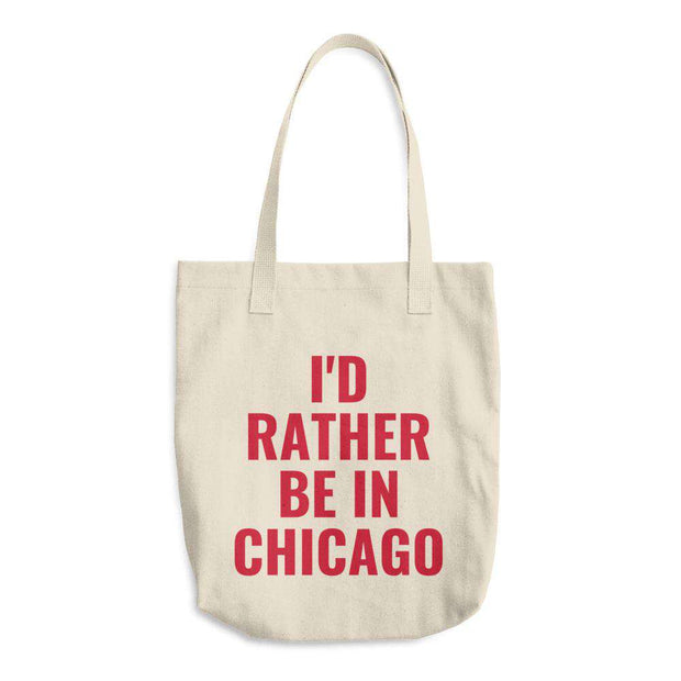 I'd Rather Be In Customizable Tote Bag - C'monStore #Tote Bags