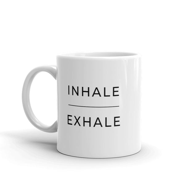 Inhale Exhale Mug - C'monStore #Mugs