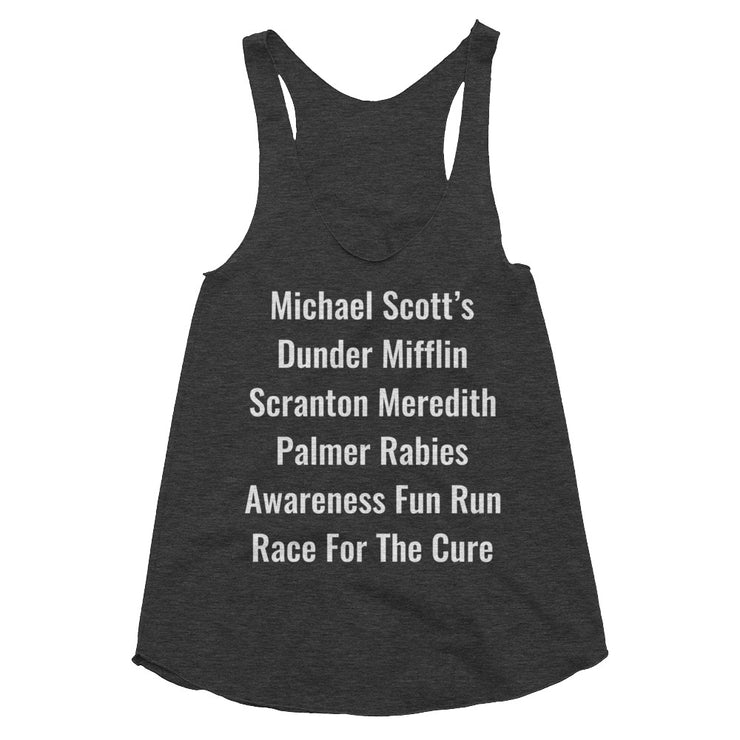 Dunder Mifflin Run Women's Tanktop - C'monStore #Shirts