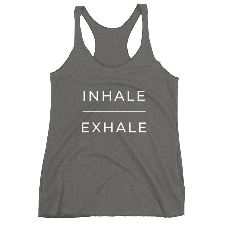 Inhale Exhale Women's Tanktop - C'monStore #Shirts