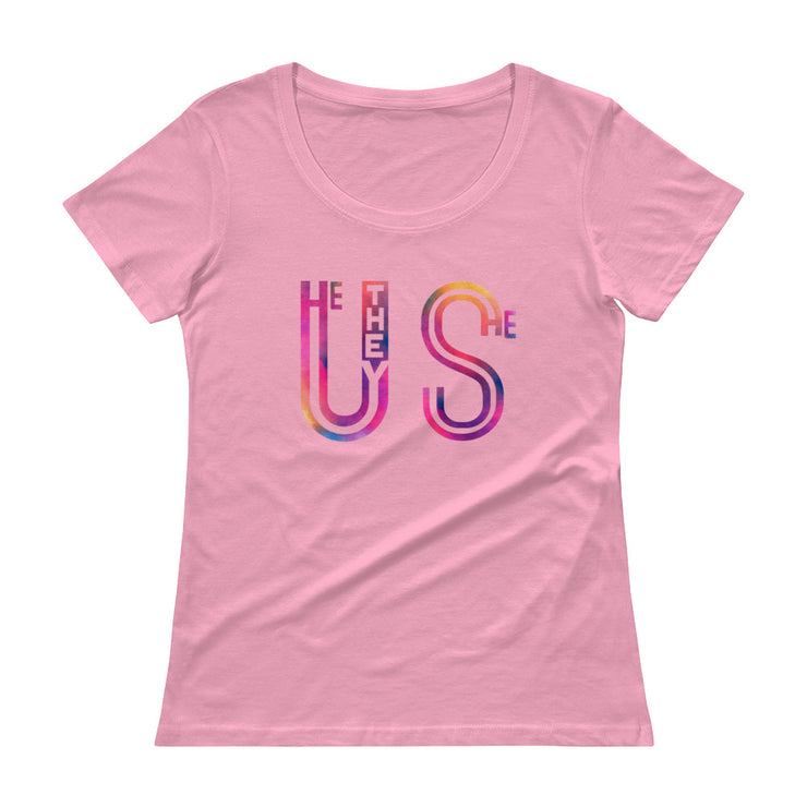 Us (He They She) Women's Scoopneck T-Shirt