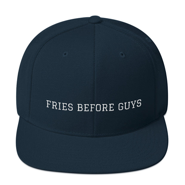 Fries Before Guys Snapback Hat - C'monStore #Hats