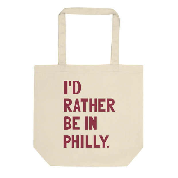 I'd Rather Be In Philly Tote Bag - C'monStore #Tote Bags