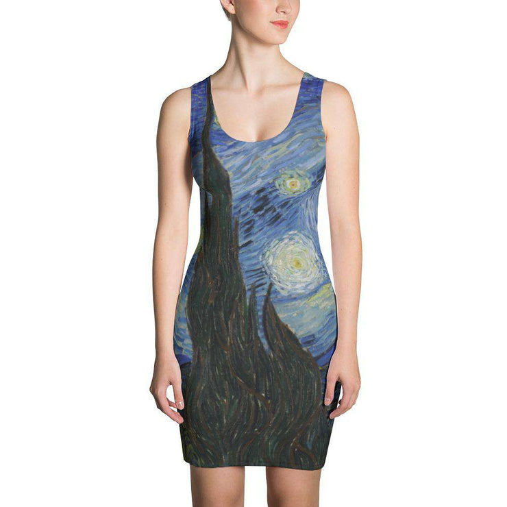Van Gogh Starry Night Dress - C'monStore #Dresses
