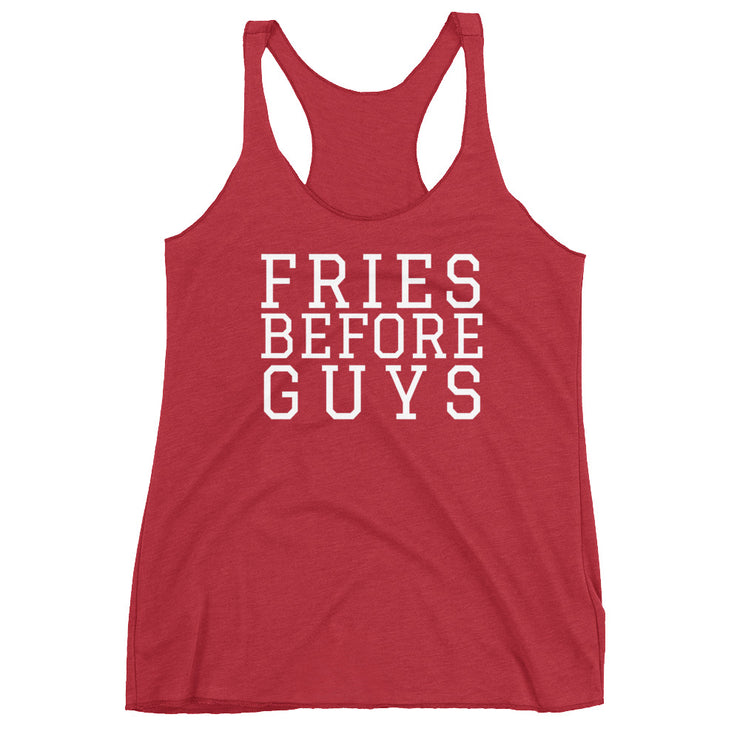 Fries Before Guys Women's Tanktop - C'monStore #Shirts