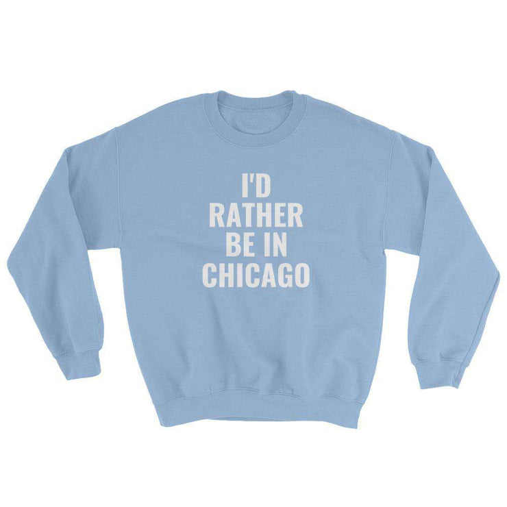 I'd Rather Be In Customizable Sweatshirt - C'monStore #Shirts