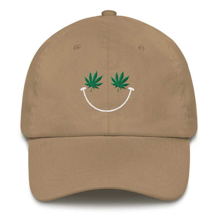 Weed Smiley Hat