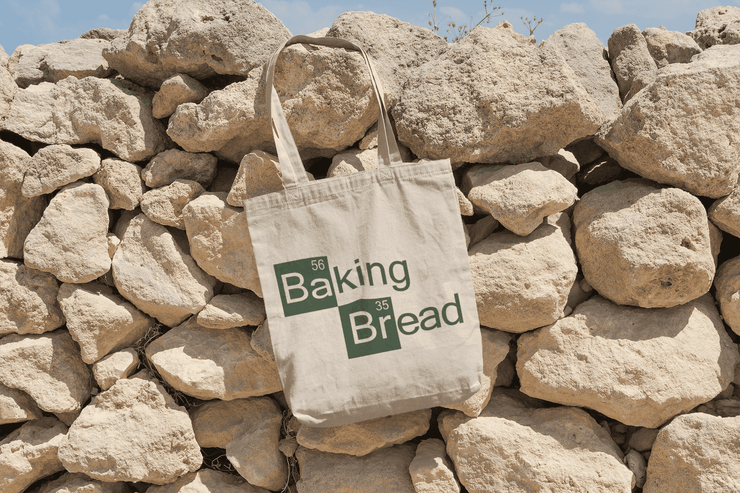 Baking Bread (Breaking Bad) Tote Bag - C'monStore #Tote Bags
