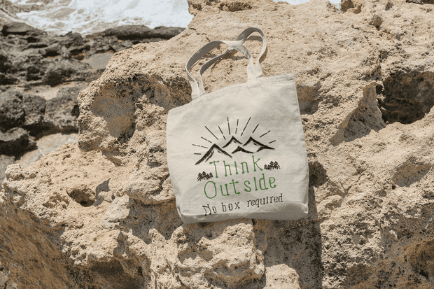 Think Outside Tote Bag