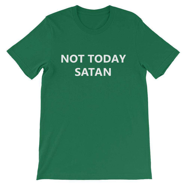 Not Today Satan T-Shirt - C'monStore #Shirts