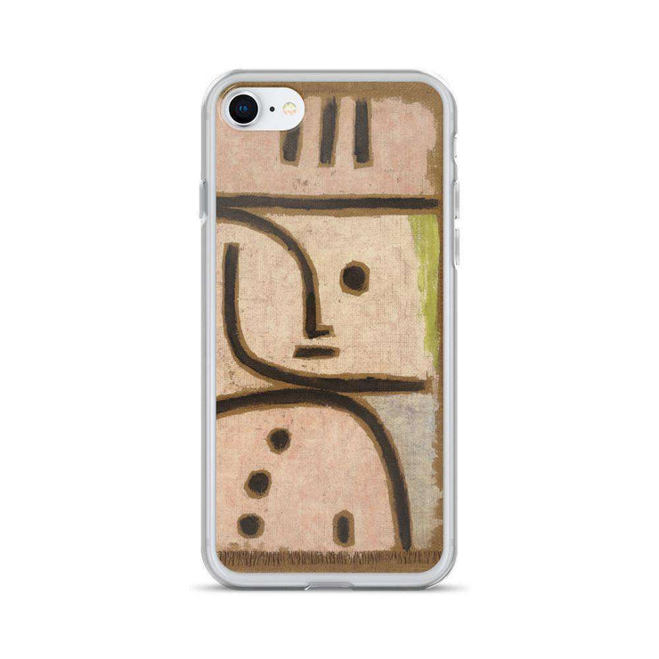 Paul Klee - WI (In Memoriam) iPhone Case - C'monStore #Phone Cases