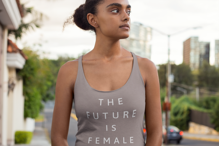The Future Is Female Women's Tanktop