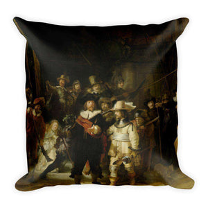Rembrandt - The Night Watch Pillow - C'monStore #Pillows