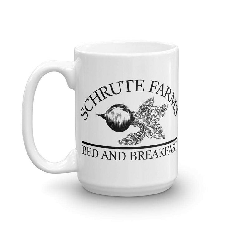 Schrute Farms Bed And Breakfast Mug (The Office) - C'monStore #Mugs