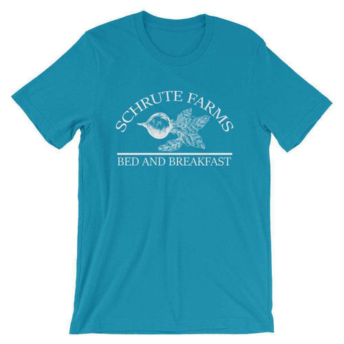 Schrute Farms Bed And Breakfast T-Shirt (The Office) - C'monStore #Shirts