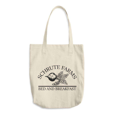 Schrute Farms Bed And Breakfast Tote Bag (The Office) - C'monStore #Tote Bags