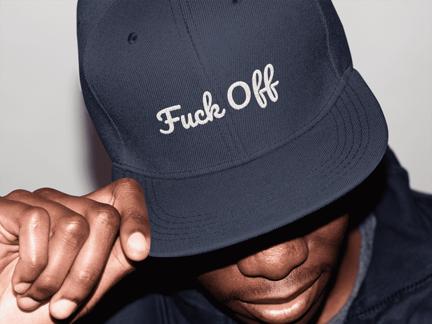 Fuck Off Snapback Hat - C'monStore #Hats