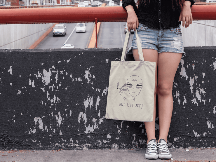 But Is It Art Tote Bag - C'monStore #Tote Bags