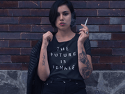 The Future Is Female Women's Scoopneck T-Shirt