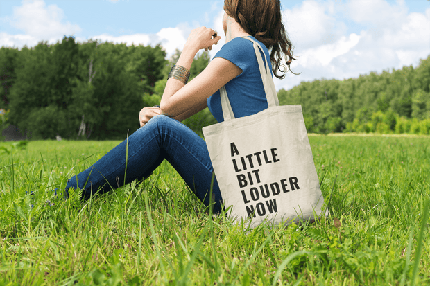 A Little Bit Louder Now Tote Bag - C'monStore #Tote Bags